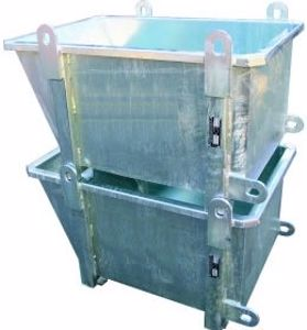Picture of Stackable Compact Crane Bin 0.23m3 1000kg