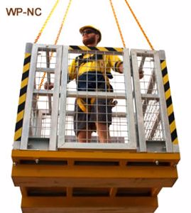 Picture of Crane Man Cages Various Capacity With or Without Roof