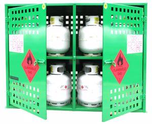 Picture of LPG Storage 16 x 9kg Gas Bottles