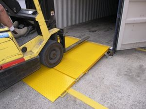 Picture of 5000kg Forklift Container Ramp
