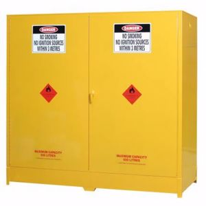 Picture of Flammable Goods Storage 650 Litre Double Door