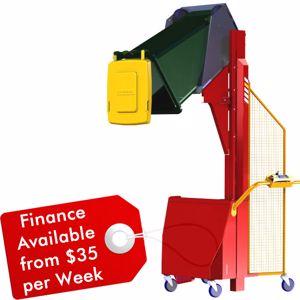 Picture of Electric Wheelie Bin Tipper 150kg