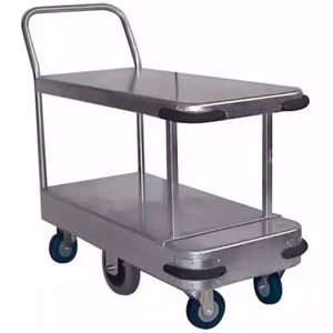 Picture of Galvanised Twin Deck Trolley Length 990mm