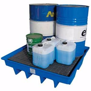 Picture of 4 Drum Bunded Pallet for 4 x 205 Litre