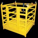Picture of 3 Person Crane Work Box with Square Floor